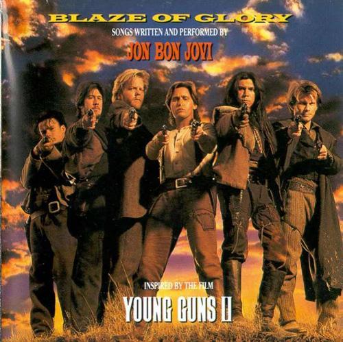 Young Guns II (1990) single - Blaze of Glory by Jon Bon Jo ...