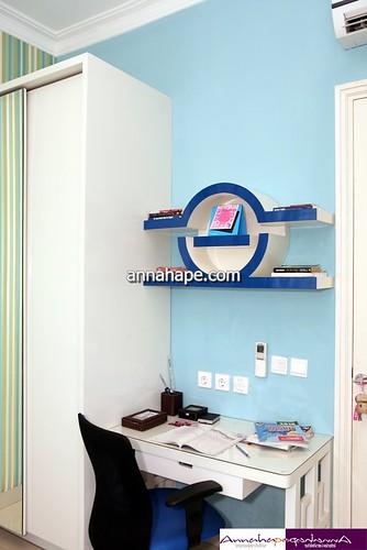 Meja belajar di kamar tidur anak design by annahape studio flickr - Blog di interior design ...