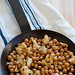 spiced chickpeas with almonds