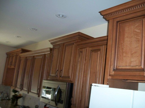 american kitchen corporation cathedral wall cabinets flickr