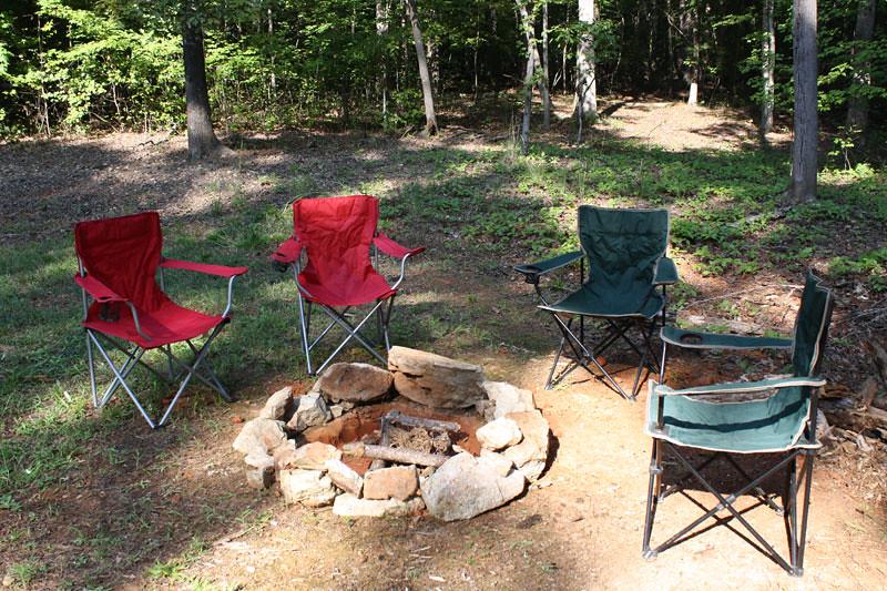 Attirant ... Chairs Around Campfire | By Frugalmomnet