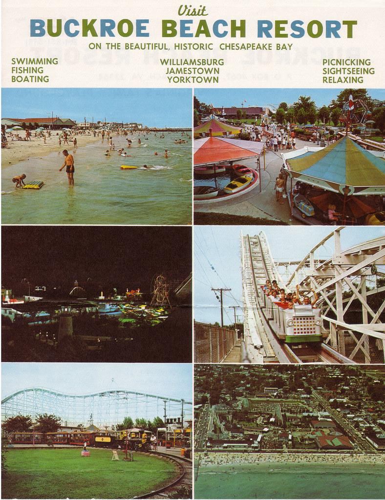Defunct Amusement Parks Buckroe Beach Hampton Virginia