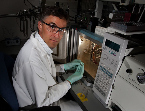 A scientist performs Isotope Ratio Mass Spectrometry | by Los Alamos National Laboratory