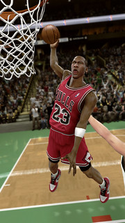 Michael Jordan in NBA 2K11 for PS3 and PlayStation Move | by PlayStation.Blog
