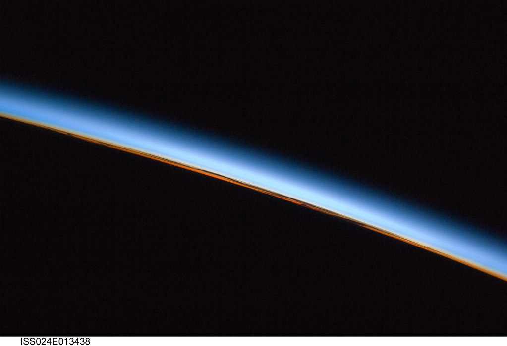 The Edge Of The Earth Nasa International Space Station