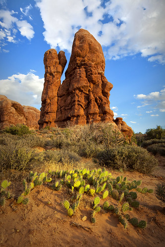 Rock Columns Near The Windows | by Jeff Robinson - TX