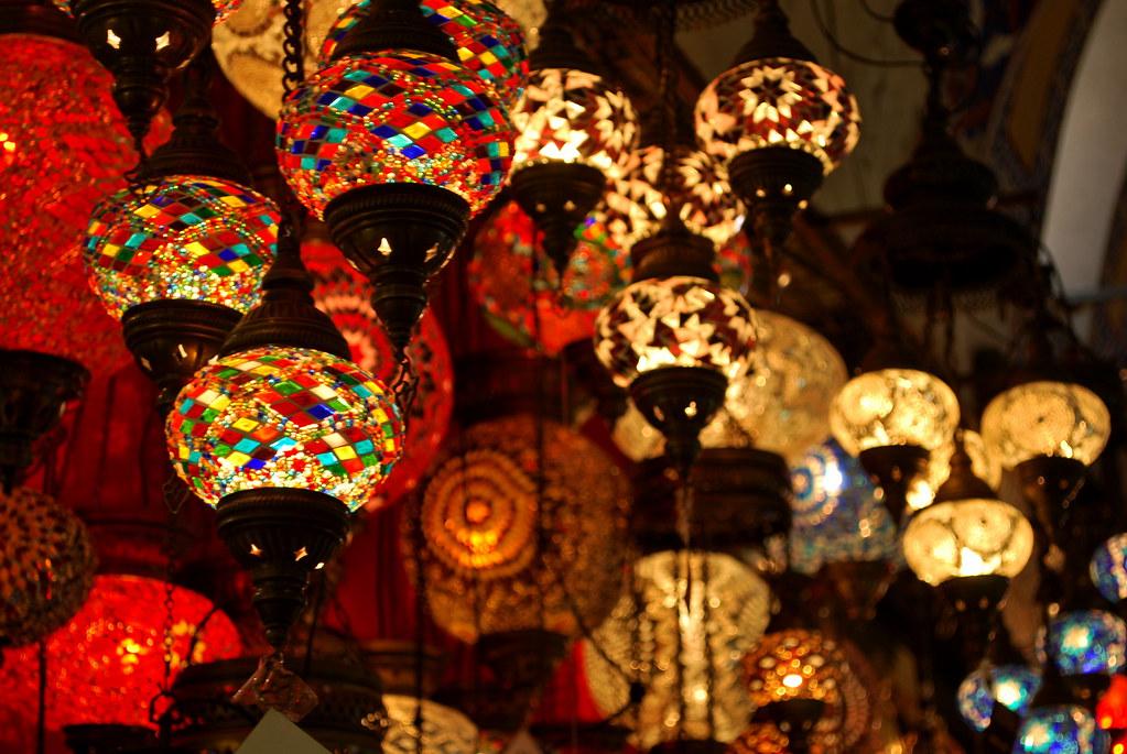 ... Turkish Lamps, Istanbul | By Littleblom
