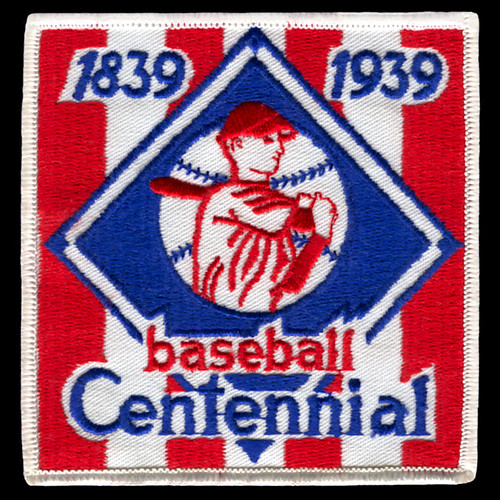 1939 Baseball Centennial Replica Patch | by Jerry Reuss Collection