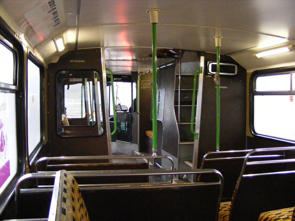 Bus Interiors Arriva North East 0614 Gye515w Mcw Metrobu