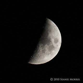 Half Moon September 14th 2010 by Seanie Morris | by Seanie Morris