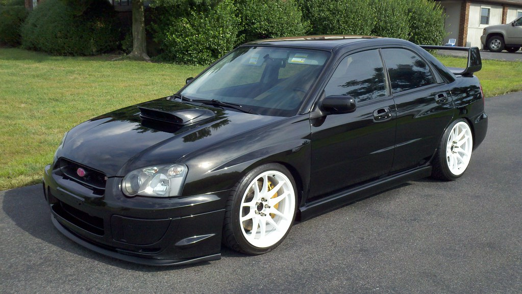 2004 Subaru Wrx Sti New Wrx Side Skirts And Nur Spec R