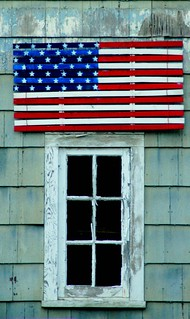 Patriotic Window | by MY PINK SOAPBOX
