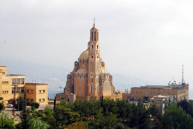 st paul basilica harissa lebanon quotthe byzantinestyle