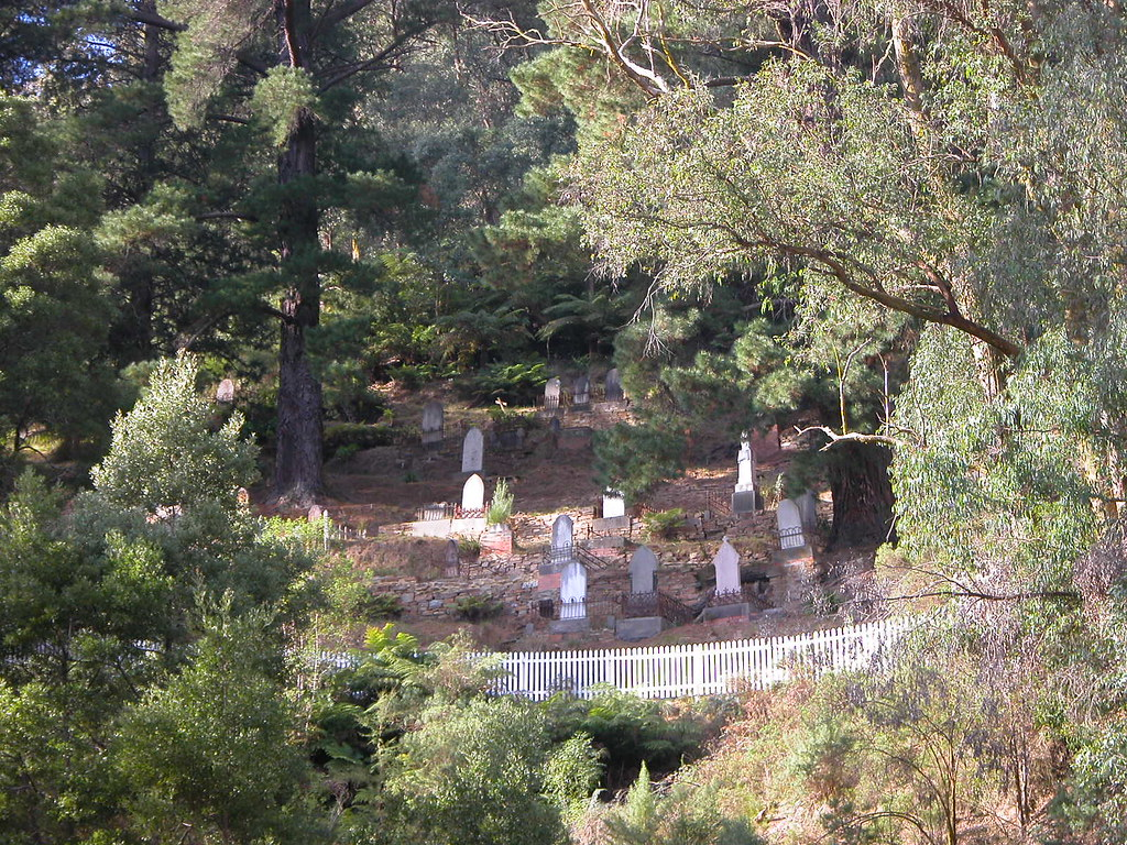 Walhalla Australia  city photos gallery : Walhalla Cemetery, VIC, Australia | The cemetery was surveye ...