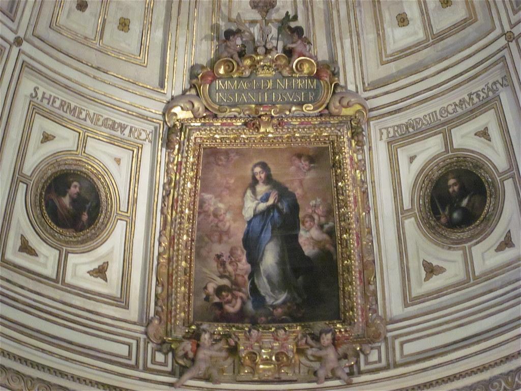La inmaculada de murillo y la sala capitular de la cated for Sala 0 teatro sevilla