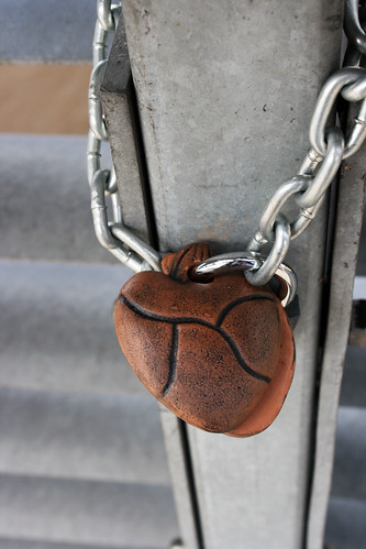 Heart-shaped lock | by quinn.anya