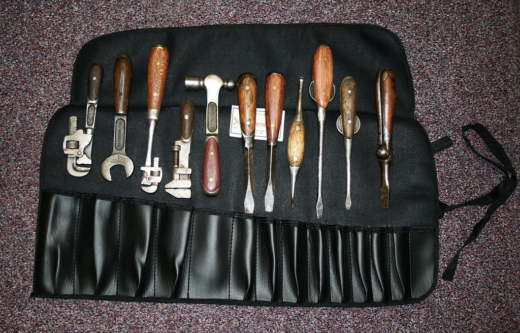 Perfect Handle Tool Roll I Collect Old Tools And One Of