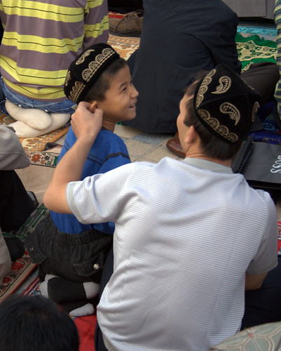 A Father and Son at Prayer on Eid | by preston.rhea