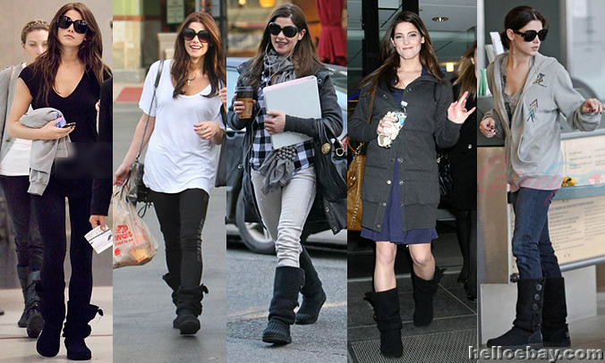 Celebrities And And Ugg Classic Cardy Boots