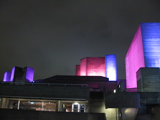 London's National Theatre by night | by Leisha Camden