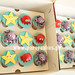 Under the Sea Cupcakes boxed