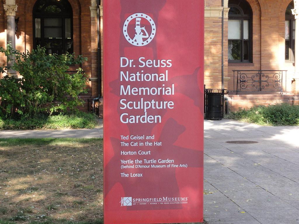 Dr Seuss National Memorial Sculpture Garden Sorta Explains Flickr