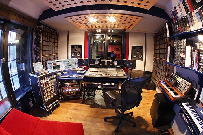 Recording Studio Control Room Fisheye Small | Check out ...