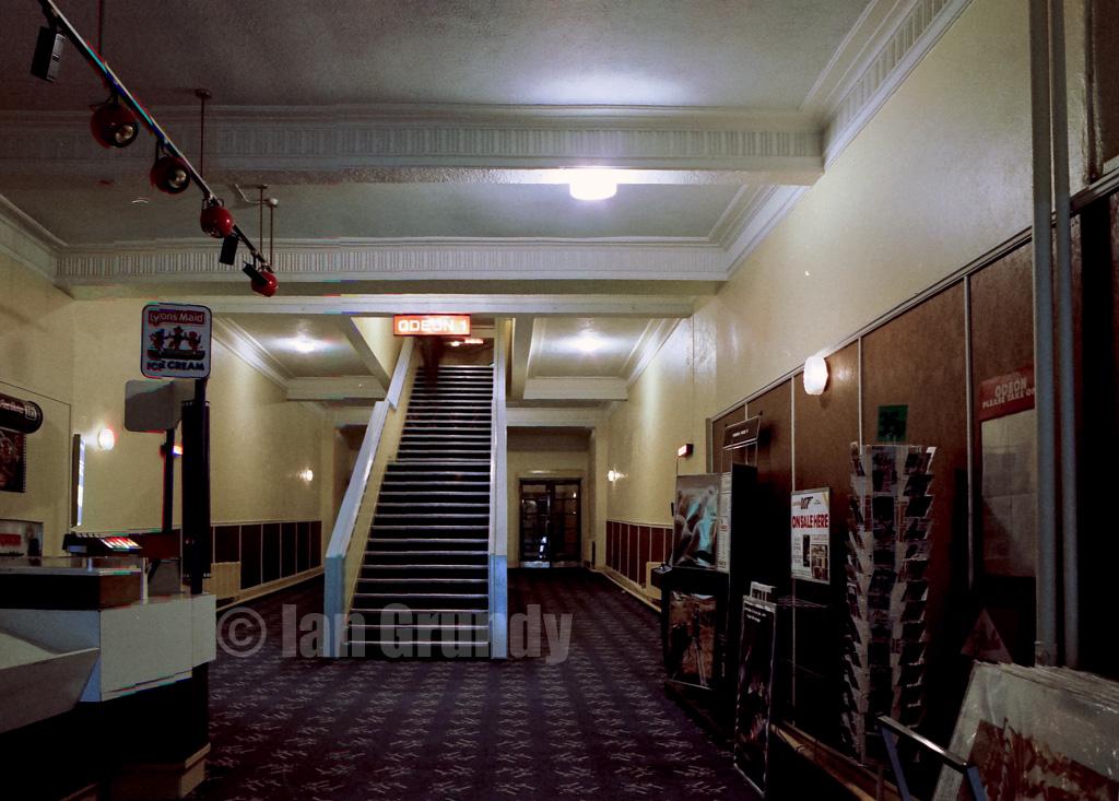 Long Foyer Jobs : Cardiff odeon the long stalls foyer of