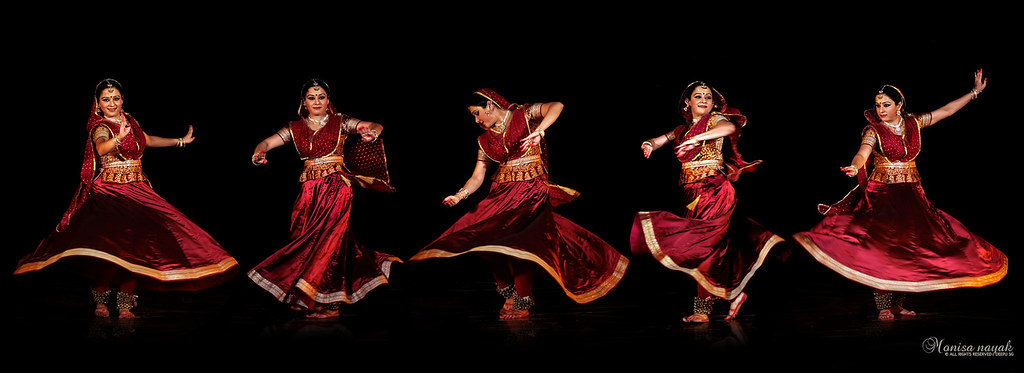 Kathak Is One Of The Eight Forms