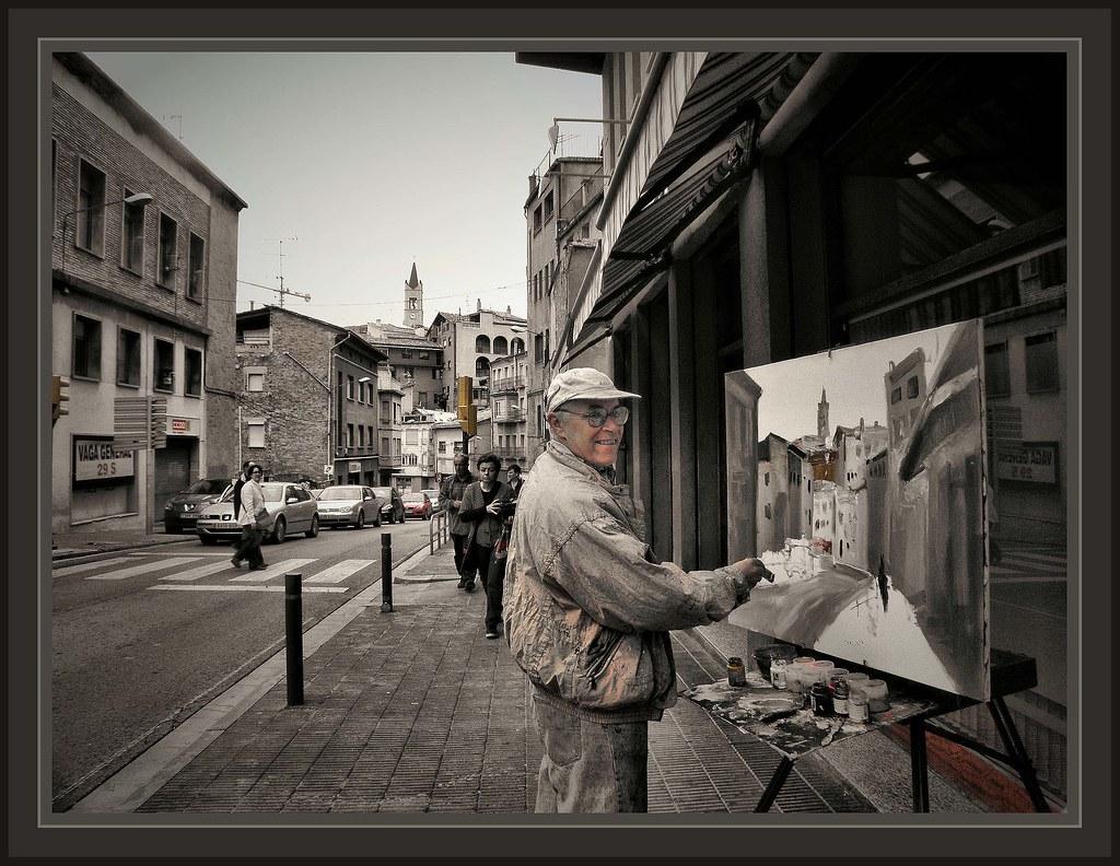Berga bergueda fotos pintores pintors ernest descals flickr - Ciudad de berga ...