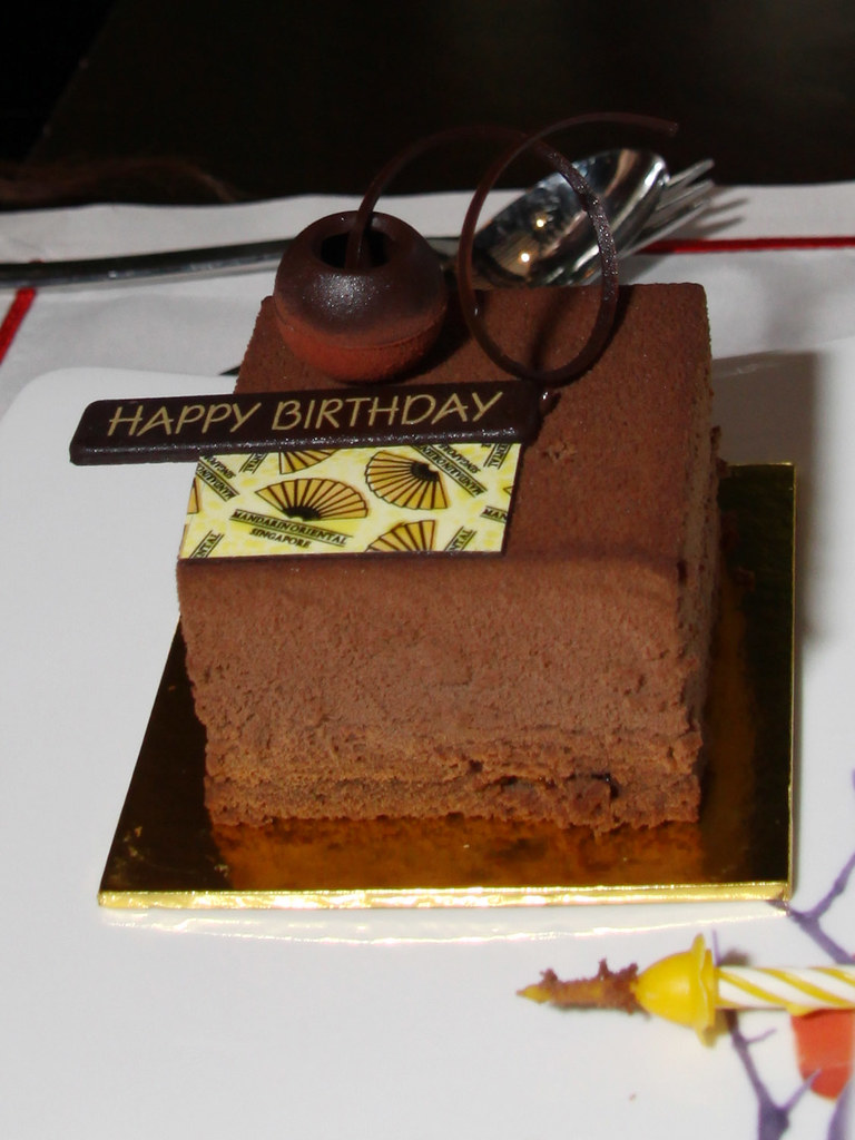 Complimentary Individual Birthday Cake From Cherry Garden Flickr