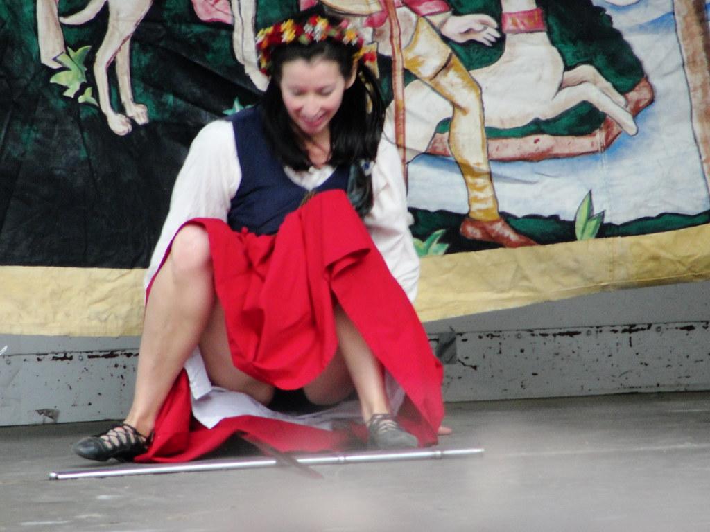 dancer upskirt