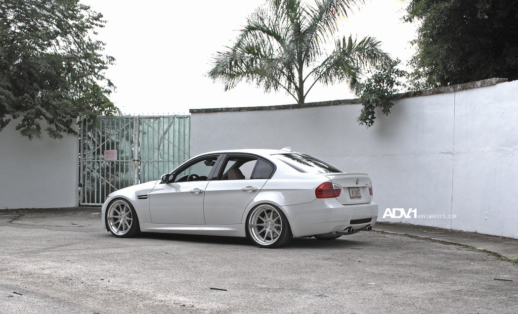 Bmw E90 M3 On The New Adv10 Track Spec Forged Wheels By Ad