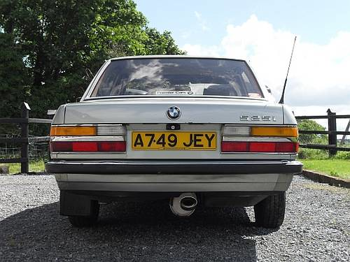 Bmw E28 525i 1983 Car And Classic Co Uk Willem S