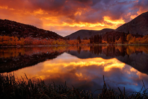 North Lake, Ca - Red Dawn and the great migration. | by ™ Pacheco