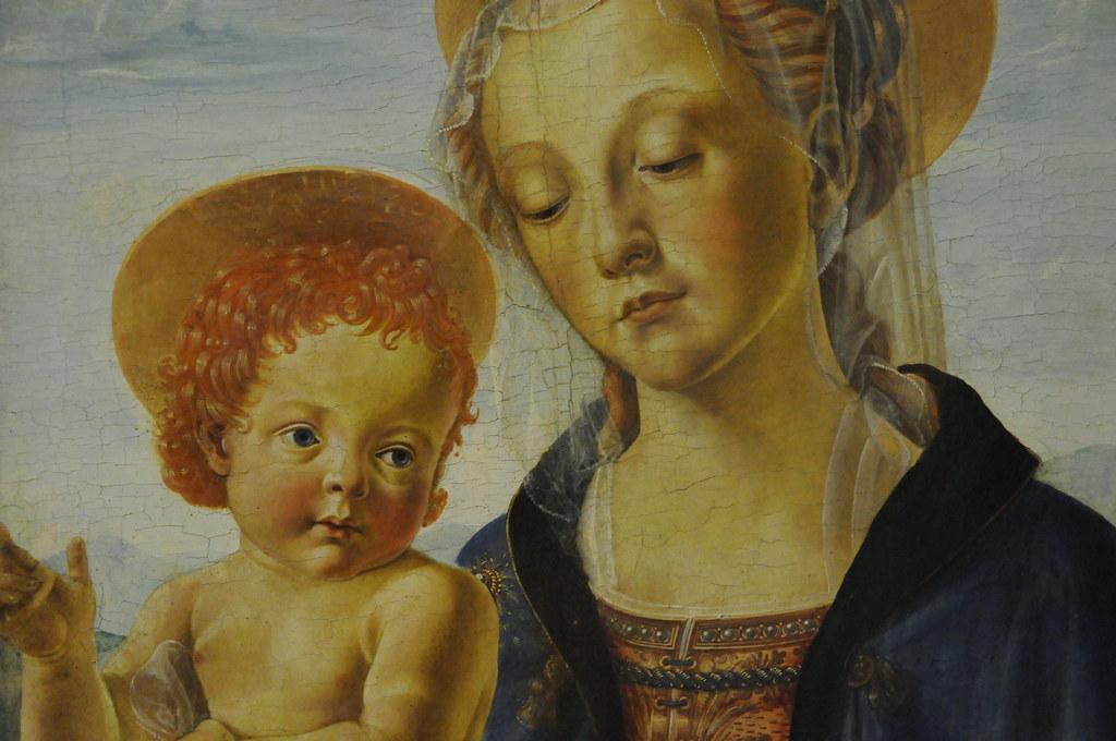 Madonna And Child Andrea Del Verrocchio Workshop Flickr