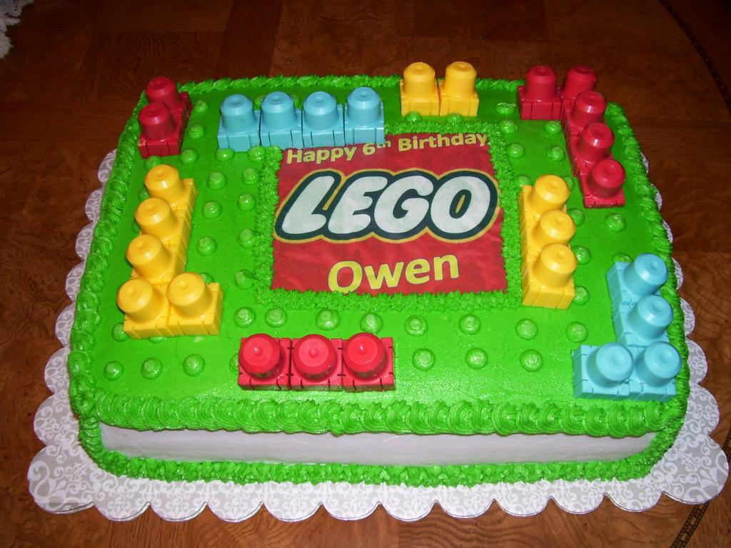 Lego Cake 1 Lego Cake Mais Cakes Flickr