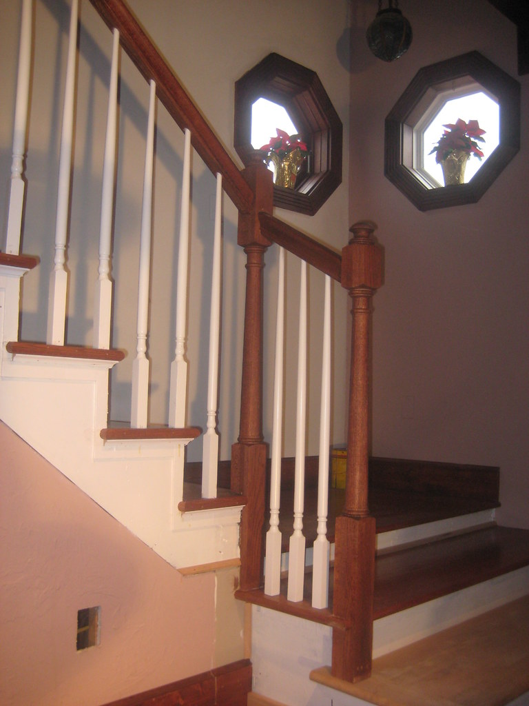 Charmant ... Stair Contractor Build Stair Rail (2) | By The Finishing Company  Richmond Va
