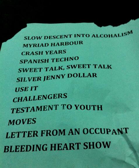R Setlist New Addictions Tour