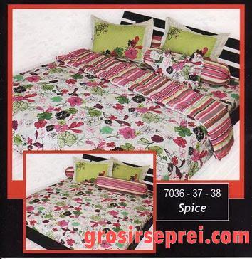 ... Sprei My Love Tinggi 30cm Spice   By Grosir Seprei Online