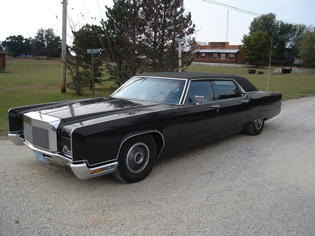1972 Lincoln Continental Andy Hotton Limousine | Rare ...