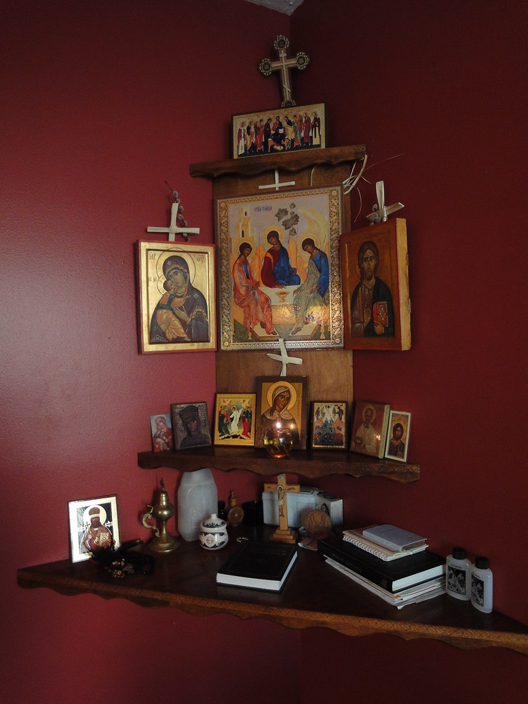 Icon Corner At The Home Of Fr Justin Amp Tamara Patterson