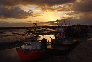 Sunset at Leigh on Sea | by Whipper_snapper