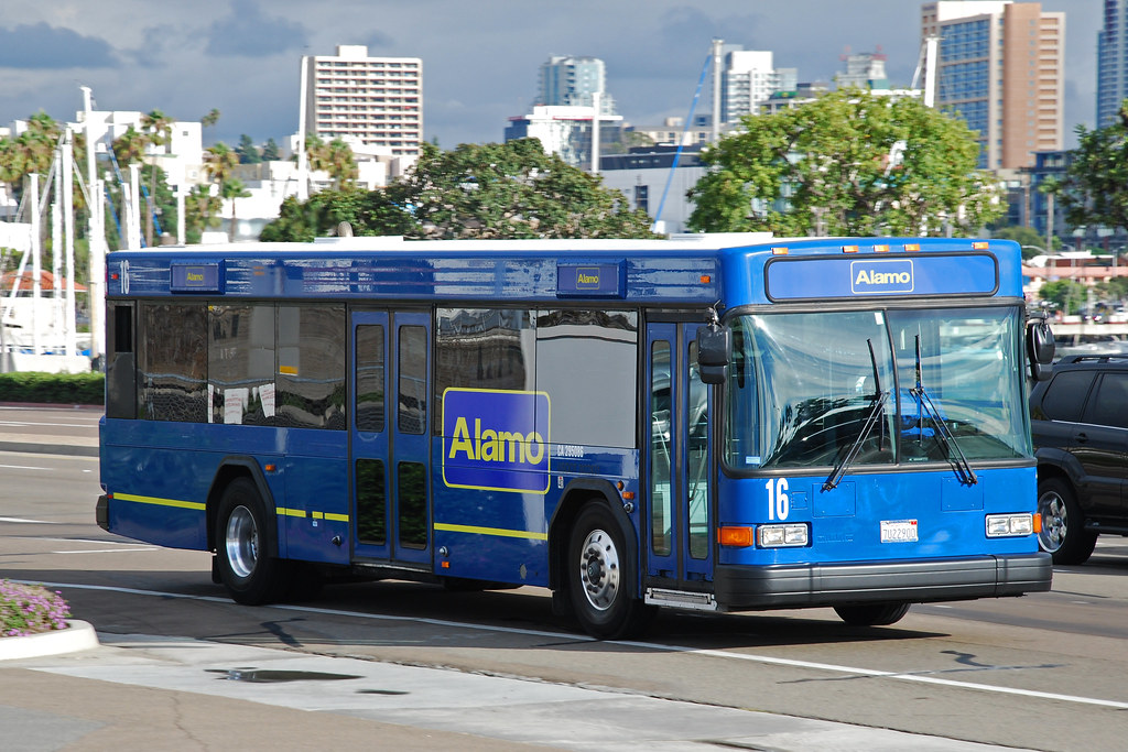 Alamo Rent A Car Alamo Rent A Car Gillig Advantage Bus