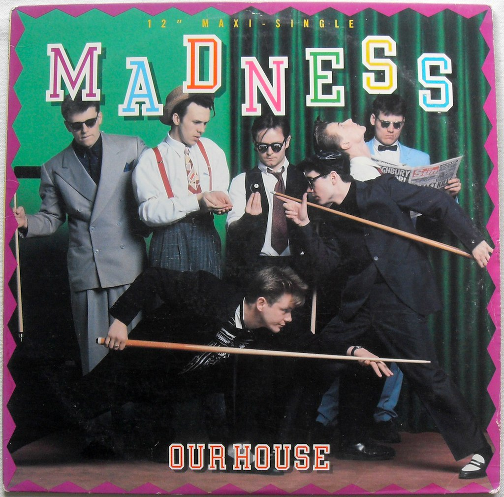 Madness 1983 Our House 12 Inch Single Vintage 1980s Vinyl