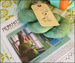 Roseknits Giveaway Closeup | by nevernotknitting