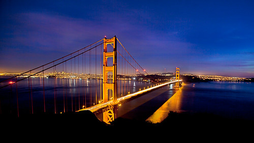 My Birthday Night view of Golden Gate Bridge, San Francisco | by Lisa Bettany {Mostly Lisa}