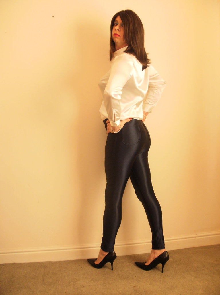Mature Tight Lycra Pants