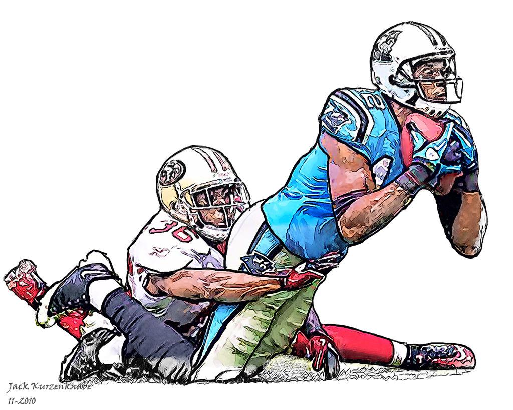 Carolina Panthers David Gettis San Francisco 49ers Sha