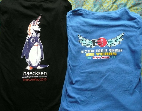 cool t-shirt backs | by pfctdayelise